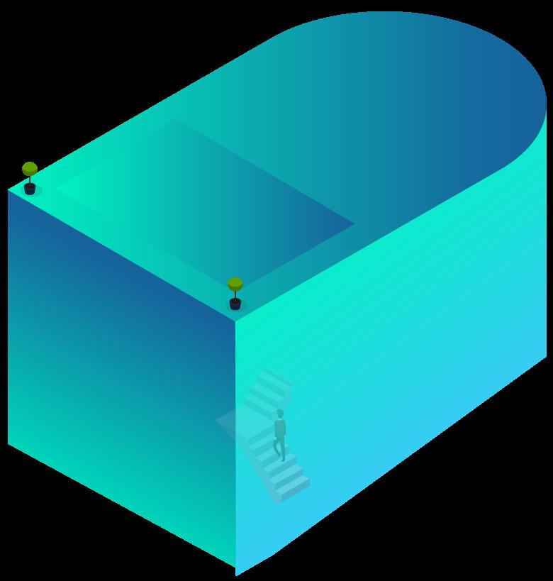 rahkargostaran home isometric